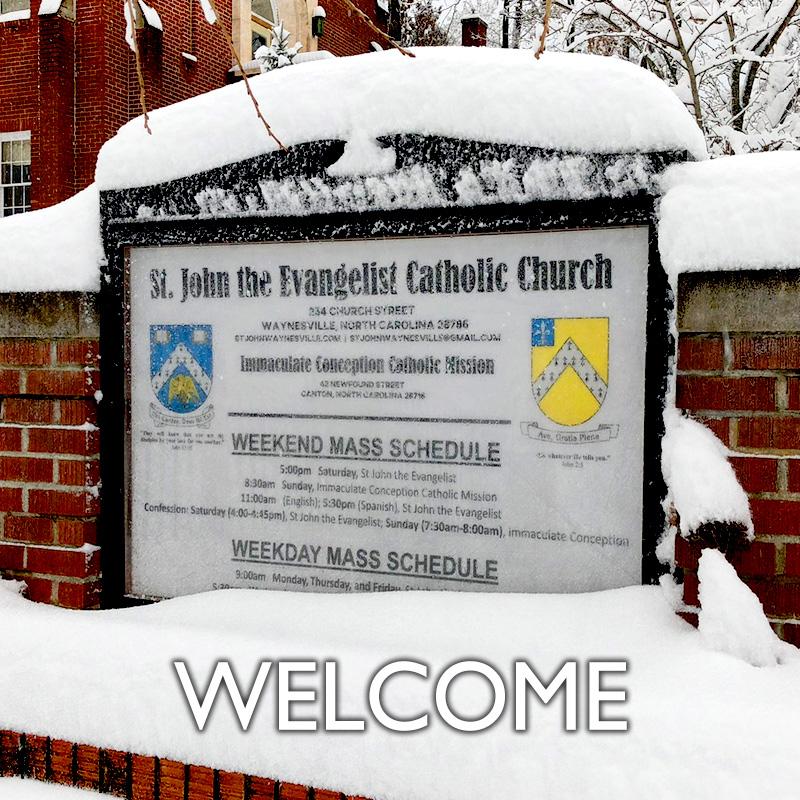 St  John the Evangelist Catholic Church • Immaculate